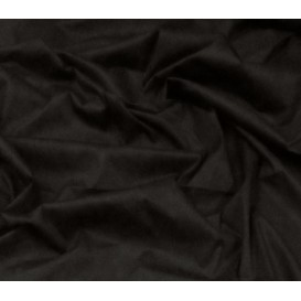 coupon popeline stretch uni noir