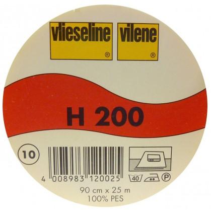 vlieseline H200 Blanc largeur 90cm x 50cm