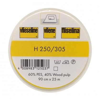 vlieseline H250 Blanc largeur 90cm x 50cm