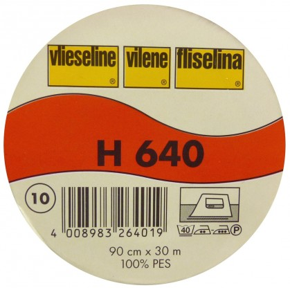 vlieseline molleton H640 largeur 90cm x 50cm