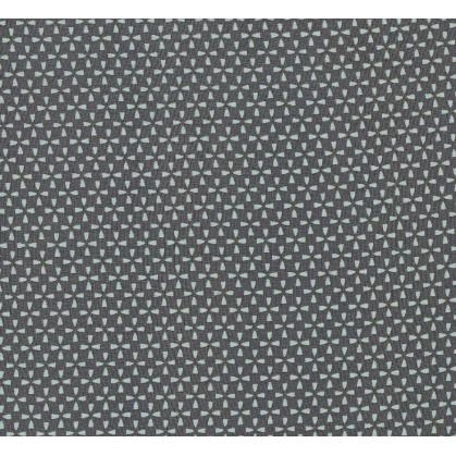 tissu voile polyester étoiles bleues largeur 150cm x 50cm