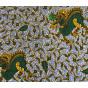 tissu africain wax dragon largeur 113cm x 50cm