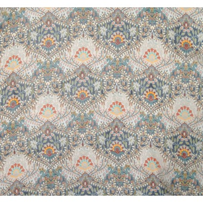 tissu voile polyester fresque largeur 150cm x 50cm