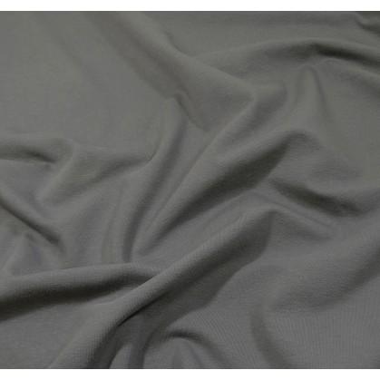 tissu jersey gris foncé largeur 160cm x 50cm