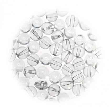perles de verre translucide 3mm