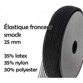 coupon 3m élastique fronceur