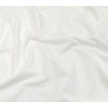 tissu jersey blanc largeur 160cm x 50cm