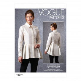 patron chemise moulante Vogue V1659