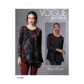 patron haut Vogue V1660