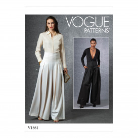 patron pantalon Vogue V1661