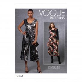 patron combinaison Vogue V1664