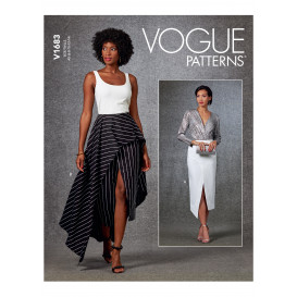 patron jupe Vogue V1683