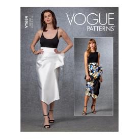 patron jupe Vogue V1684