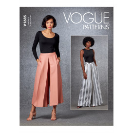 patron pantalon Vogue V1685