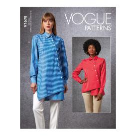 patron chemise Vogue V1678
