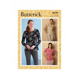 patron haut Butterick B6754