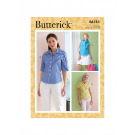 patron chemise Butterick B6753
