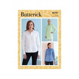 patron chemise Butterick B6747