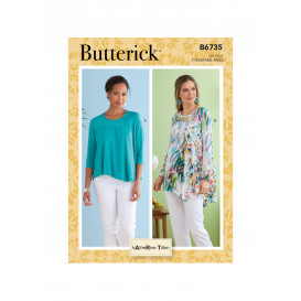 patron haut Butterick B6735