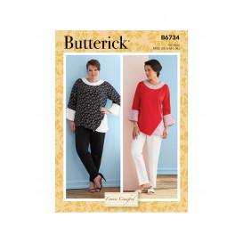 patron hauts Butterick B6734