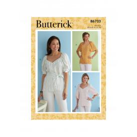 patron hauts Butterick B6733