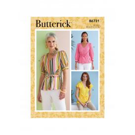 patron haut Butterick B6731