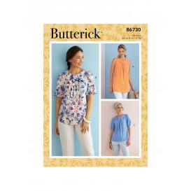patron haut Butterick B6730