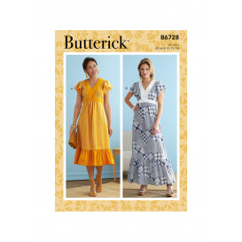 patron robe Butterick B6728