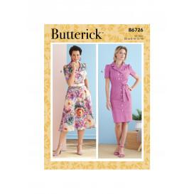 patron robe Butterick B6726