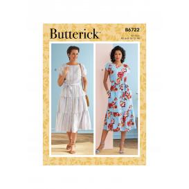 patron robe Butterick B6722
