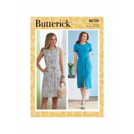 patron robe Butterick B6725