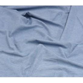 coupon jean coton bleu clair