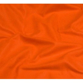 coupon feutrine flash orange laize 180cm