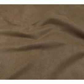 tissu suédine taupe largeur 150cm x 50cm