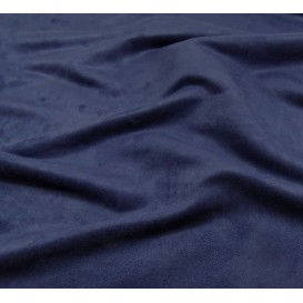 tissu suédine marine largeur 150cm x 50cm