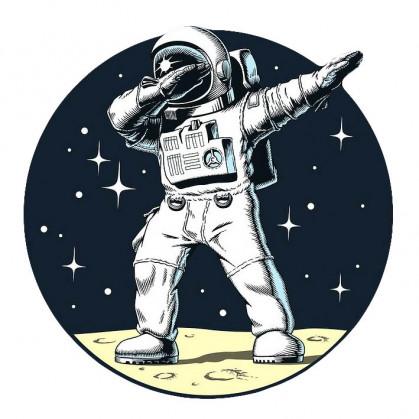 transfert vêtement astronaute dab thermocollant