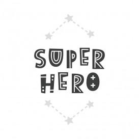 transfert vêtement super hero thermocollant