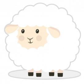 transfert vêtement mouton thermocollant