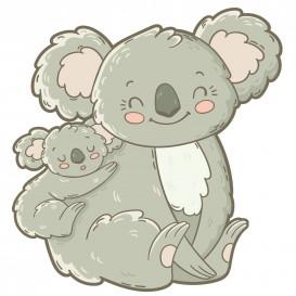 transfert vêtement koala thermocollant