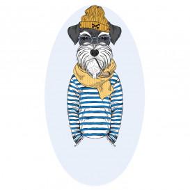 transfert vêtement chien habit thermocollant