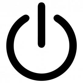transfert vêtement symbole power thermocollant
