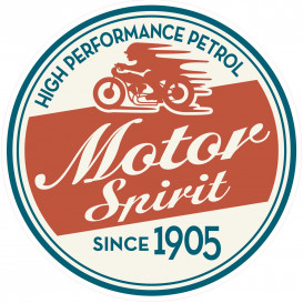 transfert vêtement motor spirit thermocollant
