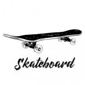 transfert vêtement skateboard thermocollant