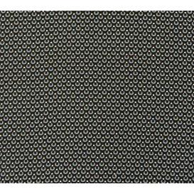 tissu viscose noir goutte bleu gris largeur 140cm x 50cm