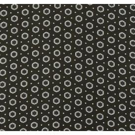 tissu viscose noir forme grise largeur 140cm x 50cm