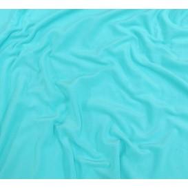 tissu polaire turquoise largeur 150cm x 50cm