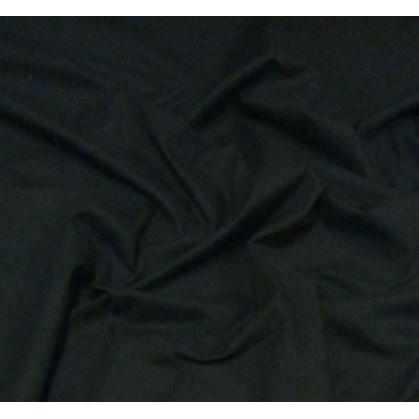 coupon coton à drap cotoval uni noir