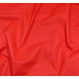 coupon coton à drap cotoval uni rouge