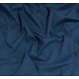 coupon coton à drap cotoval uni bleu marine