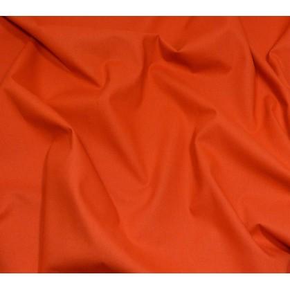 coupon coton à drap cotoval uni cuivre
